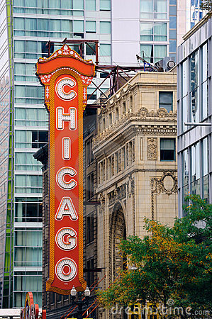 Chicago Theatre Editorial Image