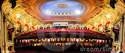Chicago Theatre Editorial Stock Photo