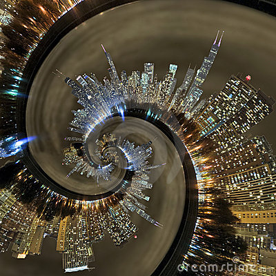 Free Chicago Time Warp Stock Photography - 22292852
