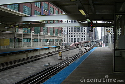 Chicago Train Platform