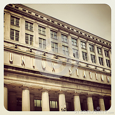 Chicago Union Station Editorial Photography