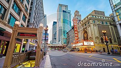 Chicagowska Theatre markiza