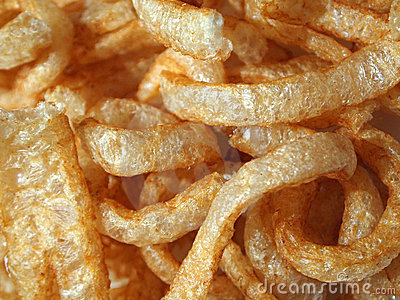 Chicharrones (pork rinds or pork cracklings)