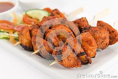 Chiche-kebab de Tikka de poulet