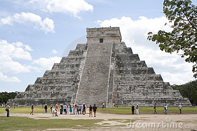 Chichen Itza Editorial Stock Image