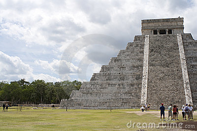 Chichen Itza Foto Editorial
