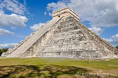 Chichen Itza Ancient Ruins in Mexico