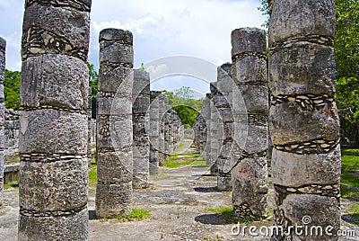Chichen Itza Colonnade
