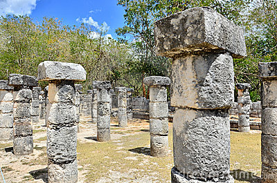 Chichen Itza - Group of a Thousand Columns