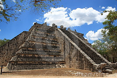 Chichen Itza. High Priest Temple