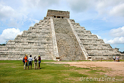 Chichen Itza, Messico Fotografia Editoriale
