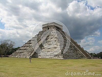 Chichen Itza Pyramid View