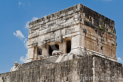 Chichen Itza Temple of Jaguars Mexico