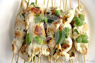Chiches-kebabs de poulet