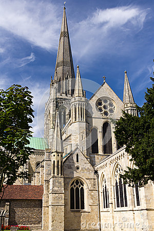 Free Chichester Cathedral Royalty Free Stock Photography - 26854547