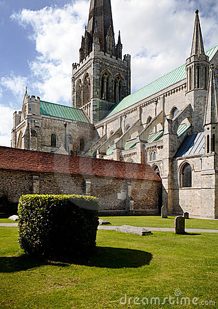 Chichester cathedral, english church