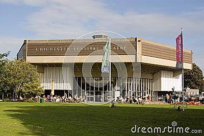 Chichester Festival Theatre Editorial Stock Photo