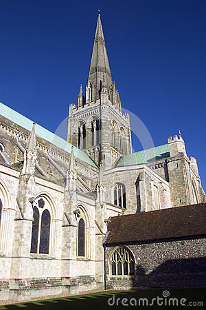Chichester in the sun