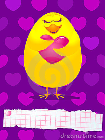 Chick in love