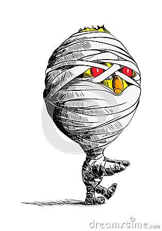 Chick mummy