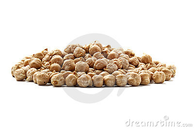 Chick Peas from side