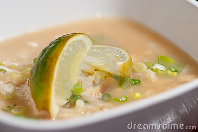 Chicken Arroz Caldo soup