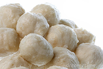 Chicken Balls Isolated