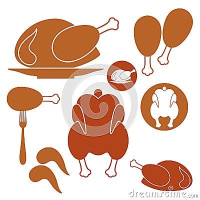 Chicken. Barbecue Grill
