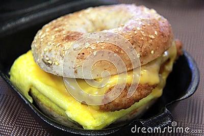 Chicken Breakfast Sandwich