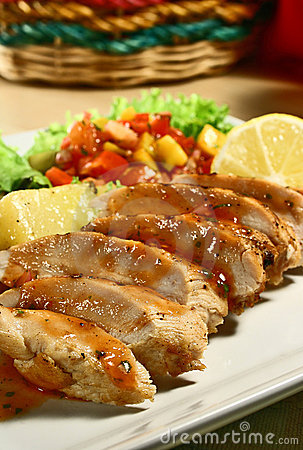 Free Chicken Breast Royalty Free Stock Images - 2520529