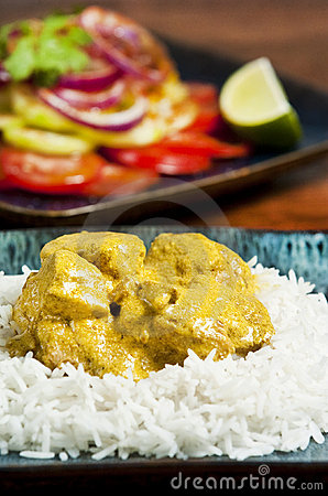 Free Chicken Curry Royalty Free Stock Photography - 9347187