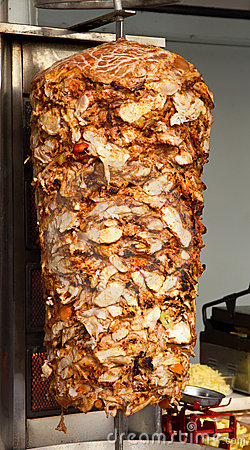 Chicken Doner Kebab Royalty Free Stock Image Image 17391086