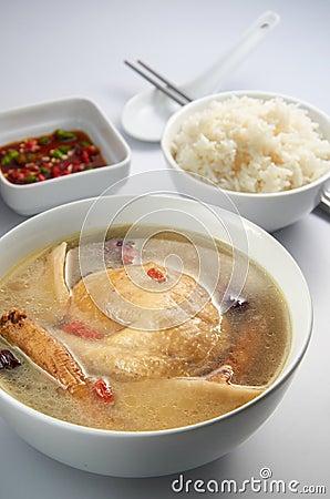 Chicken Herb Soup