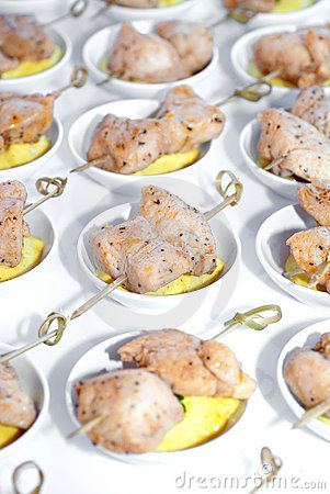 Chicken Hors d oeuvres