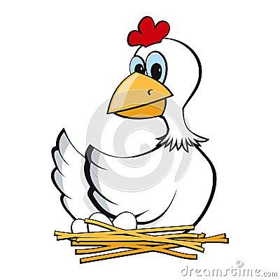 Chicken on a jack