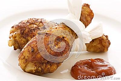 Chicken leggs grilled