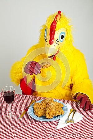 Chicken Man - Cannibalism