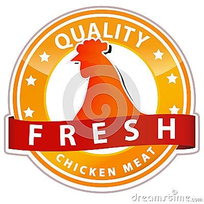Chicken meat sign