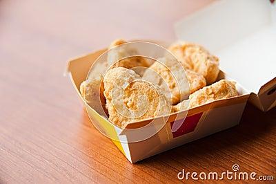 Chicken Nugget in Box