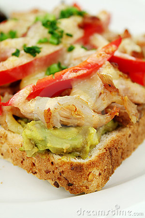 open grill sandwiches