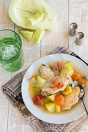 Free Chicken Papaya Stock Images - 54615084