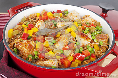 Chicken with Rice Arroz Con Pollo