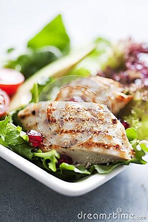 Free Chicken Salad Stock Photo - 23267320