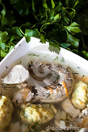 Chicken Soup Stock Photo - Image: 24626240