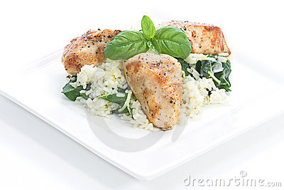 Chicken & Spinach dish # 3