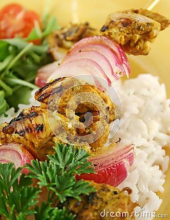Chicken Tandoori Kebobs