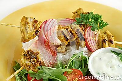 Chicken Tandoori Skewers 1