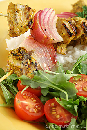Chicken Tandoori Skewers