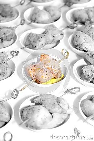 Chicken tapas