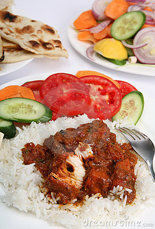 Chicken Tikka Masala Meal Vertical Stock Images - Image: 8330184